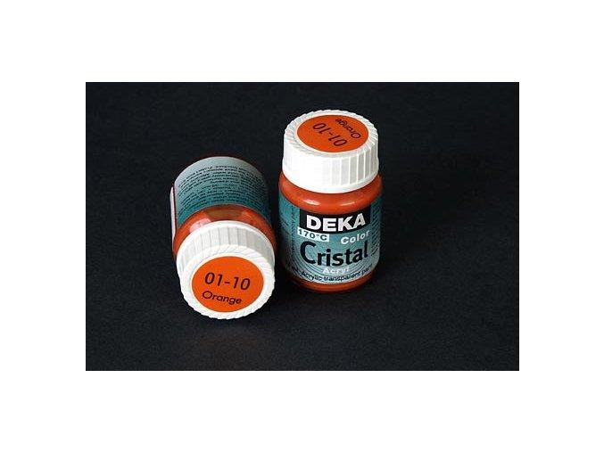 Deka ColorCristal 01-10 oranžová 25ml