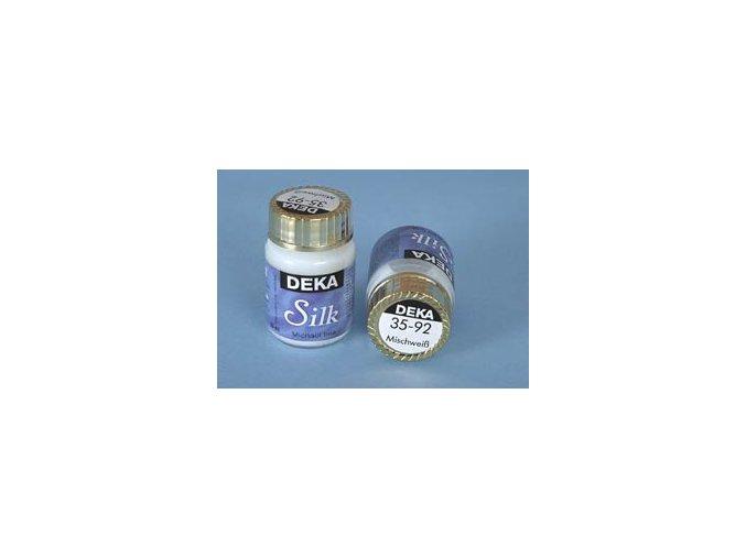 Barva na hedvábí Deka Silk 35-92 míchací bílá 25 ml