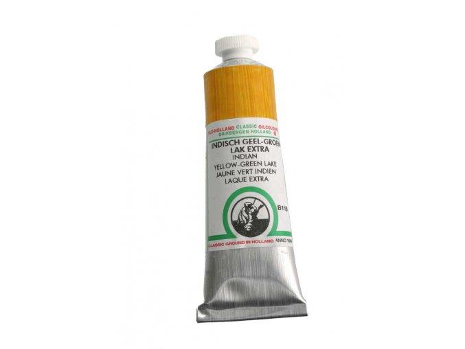 B118 Indian yellow-green lake extra 40 ml