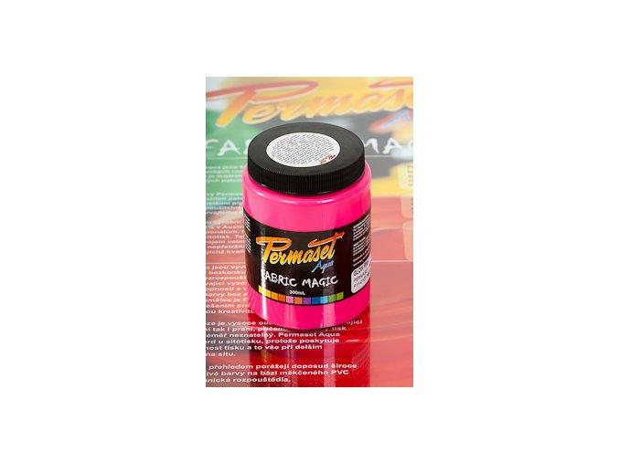 Permaset Glow - 300ml zářící magenta