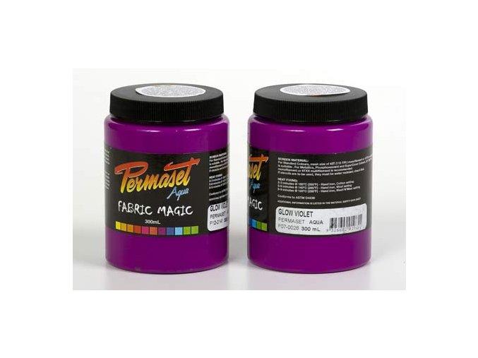 Permaset Glow - 300ml zářící fialová
