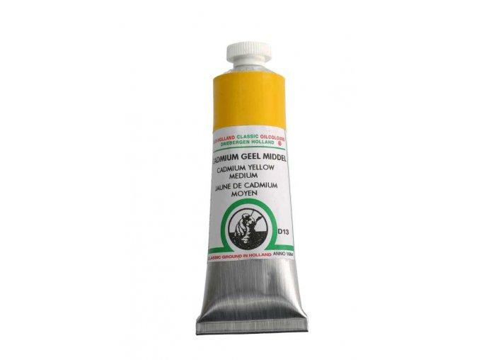D13 Cadmium yellow medium  40 ml