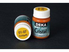 Deka ColorCristal 01-07 zlatožlutá 25ml