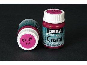 Deka ColorCristal 01-29 růžová 25ml
