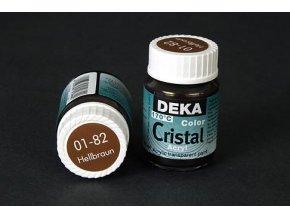 Deka ColorCristal 01-82 světle hnědá 25ml