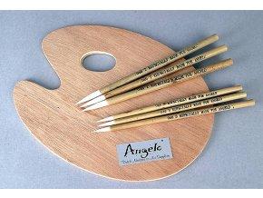 Paleta Angelo dřevěná 25x30cm 2502