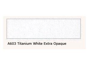 A 603 Titanium white extra op. 60 ml